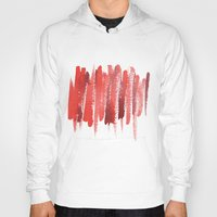 the strokes Hoodies featuring Red Strokes by Social Proper