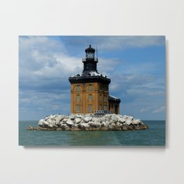 Toledo Harbor Lighthouse I Metal Print