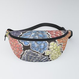 Grapes for wine lovers, gastronomy and restaurants Fanny Pack