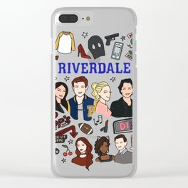 Riverdale Pops Clear iPhone Case