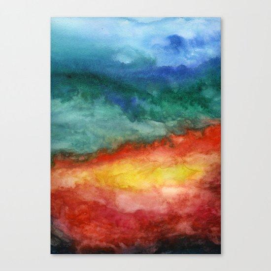 Leaving California Canvas Print