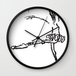 Bailarina Crayola Wall Clock