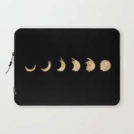 Cat Landscape 57: Phases of the Meow Laptop Sleeve