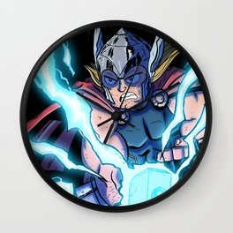 The Mighty THOR! Wall Clock