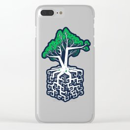 Cube Root Clear iPhone Case