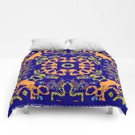 CA Fantasy Deep Blue-Color series #8 Comforters