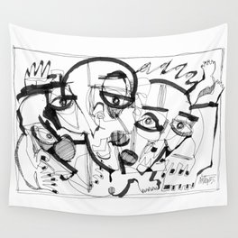 Twister Wall Tapestry