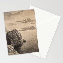 ALBERT NIKOLAYEVICH BENOIS (RUSSIAN 1852-1936) Cliffside Seascape, early 1900s Stationery Cards