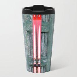 Vintage Skis - Fischer Silverglass Travel Mug