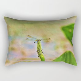 Spring Damsel Rectangular Pillow