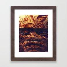 MONEY GOD Framed Art Print
