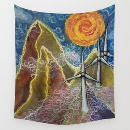 Windy Day in Tucker County Wall Tapestry
