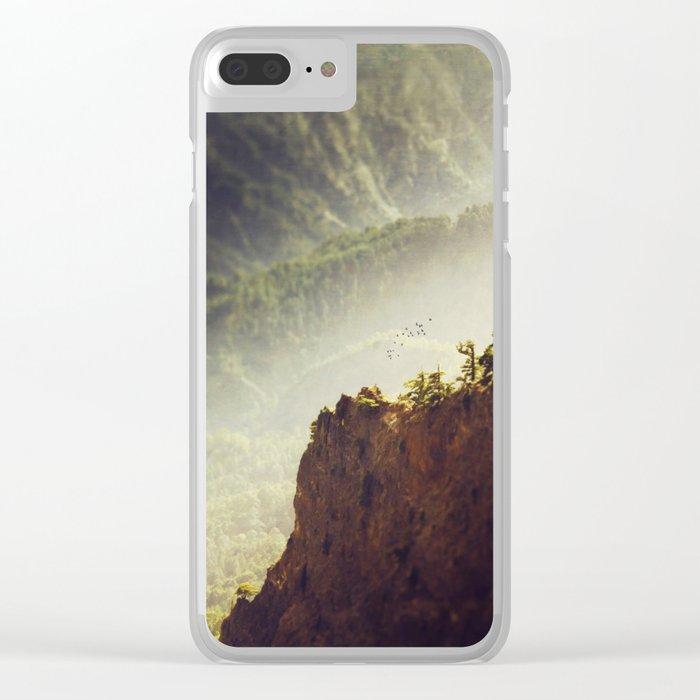 Long Way Down - Caldera de Taburiente - La Palma Clear iPhone Case