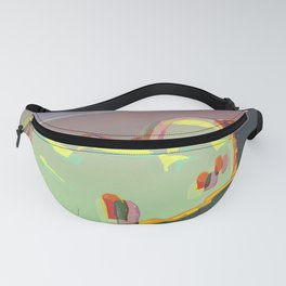 Red Moon Summer Vibrations Fanny Pack