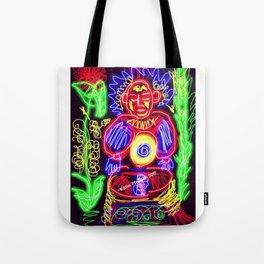 Glow Buddha Third Chakra Solar Plexus Tote Bag