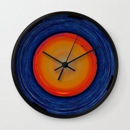 Circular Sunset Wall Clock