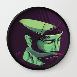 Enemy - Alternative movie poster Wall Clock