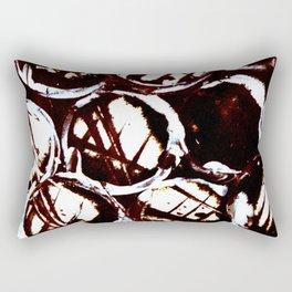 splattering & masking  Rectangular Pillow