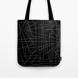 intertwined geometries Tote Bag