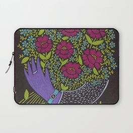 I Picked You These Flowers Laptop Sleeve
