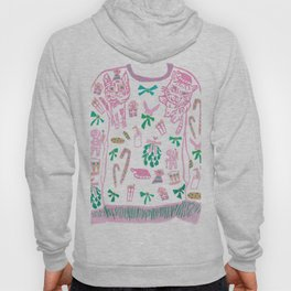 Ugly (but cute) Christmas Sweater Hoody