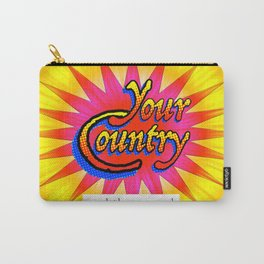 Your Country: Read the Manual Carry-All Pouch