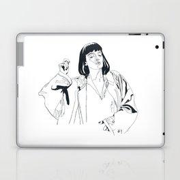 i fucking love this song Laptop & iPad Skin