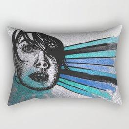 Facial Expressions Rectangular Pillow