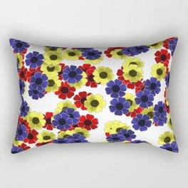 Freya Flower Fall--Home Decor Rectangular Pillow