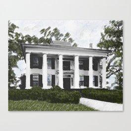 Dodd House - Georgia Plantation  Canvas Print