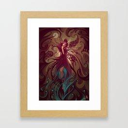 Embrace the night Framed Art Print