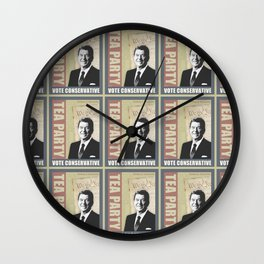 Vote Conservative Wall Clock
