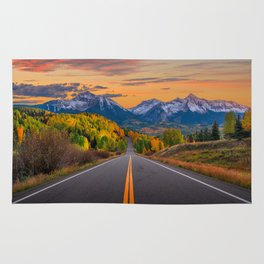 The Road To Telluride Rug