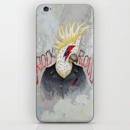 ROCK & ROLL BIRD!! iPhone Skin