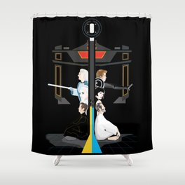 Tron Shower Curtain