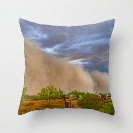 Getting Dirty - Arizona Style Throw Pillow