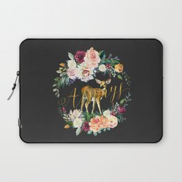 Always - Fawn - Gold/Charcoal Laptop Sleeve