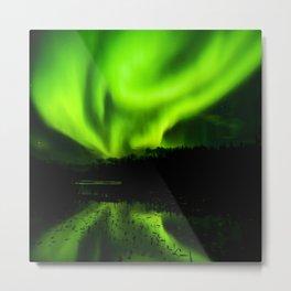 Northern Lights (Aurora Borealis) 4. Metal Print