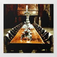 supper Canvas Print