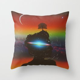 Introspective Throw Pillow