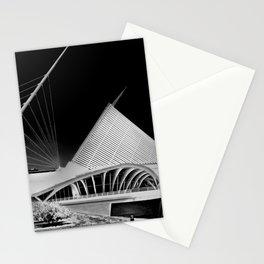 Milwaukee I by CALATRAVA architect Stationery Cards