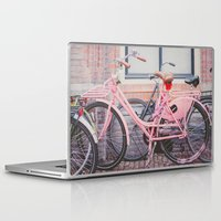 bike Laptop & iPad Skins featuring Bike by Hello Twiggs