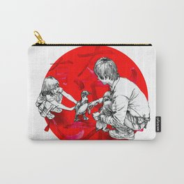 Japanese flag Carry-All Pouch