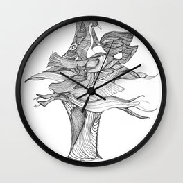 Wings and Things Wall Clock