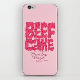 Beefcake Pantyhose iPhone Skin