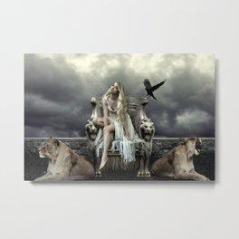Inanna Metal Print