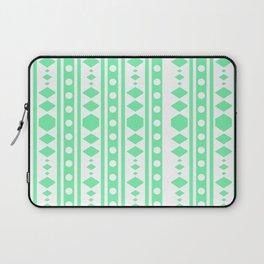 Mint Tribal Pattern Laptop Sleeve