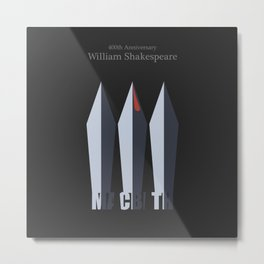 Macbeth/400 Metal Print