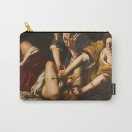 Judith Slaying Holofernes by Artemisia Gentileschi Carry-All Pouch
