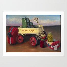 Faust Flyer Art Print